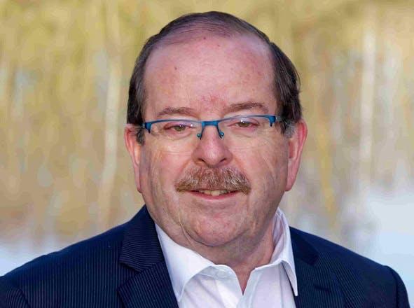 Claude Cliquet, maire d'Albert