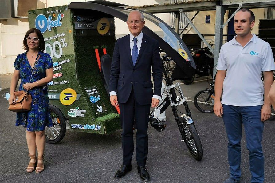 Philippe Wahl était à Orléans le 18 septembre 2020 pour promouvoir Urby