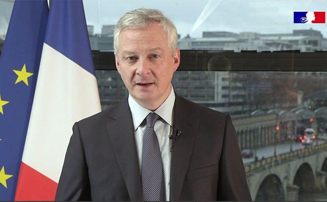 Bruno Le Maire, minstre de l'Economie