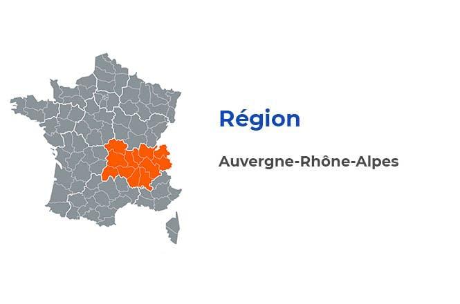 Région - Auvergne-Rhône-Alpes