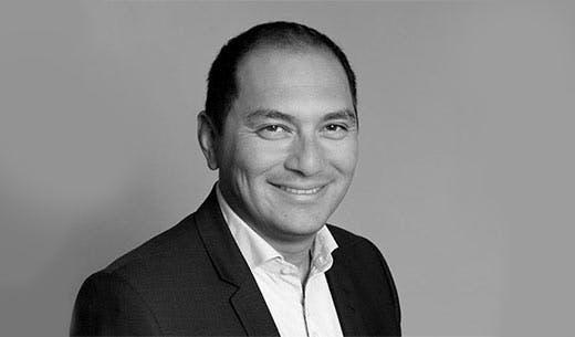 Nicolas Tran, directeur du portage de repas à La Poste