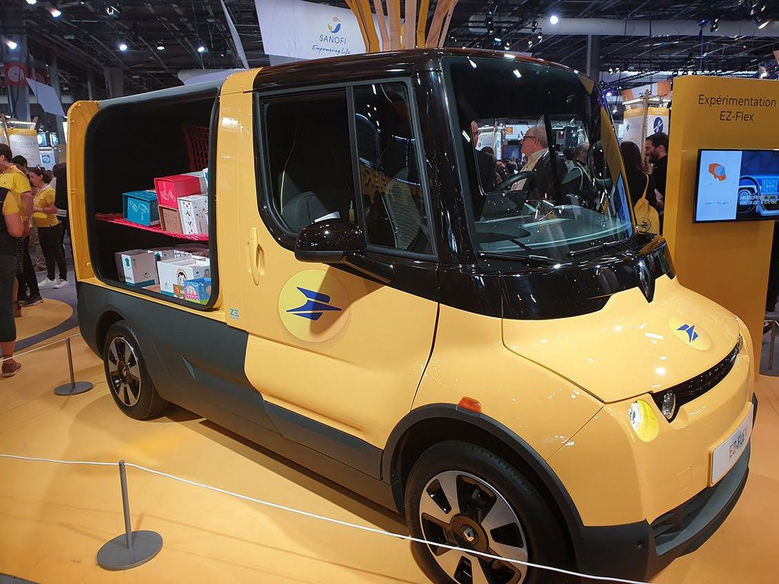 Photo du EZ-Flex de Renault au salon Vivatech 2019