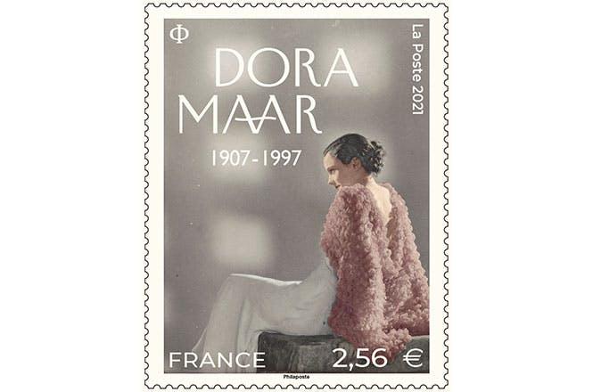 La Poste émet un timbre de la série artistique illustré par une photographie de DORA MAAR