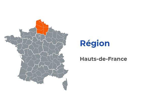 Région - Hauts-de-France