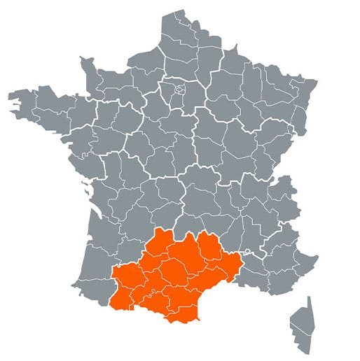 Région - Occitanie