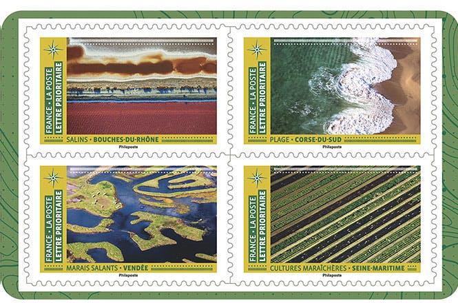 """Le carnet """"Mosaïques de paysages"""""""