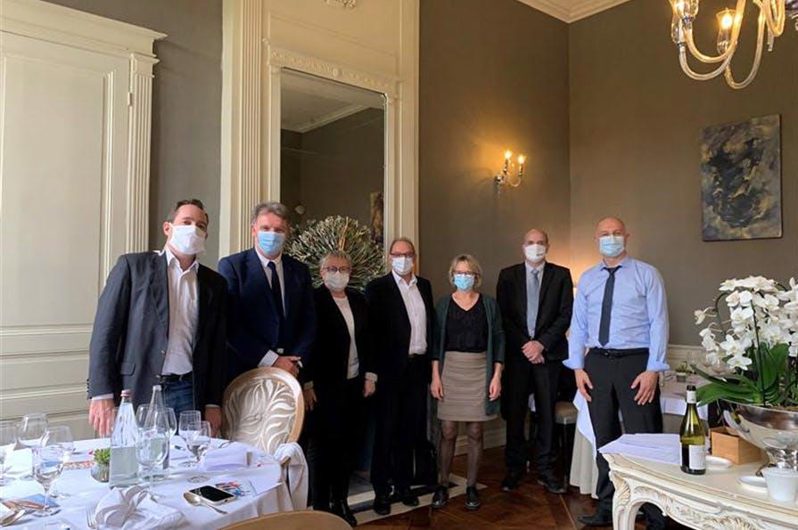 Rencontre d'élus en Mayenne dans le cadre de la démarche participative