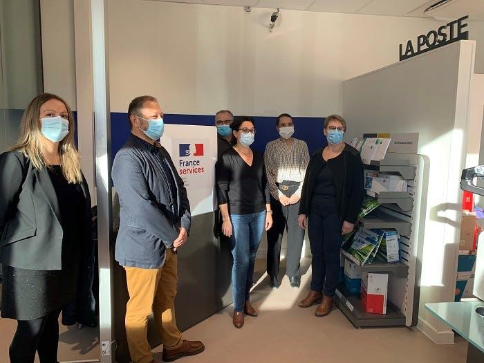 Les Maisons de services au public (MSAP) de La Poste se transforment progressivement en France Services