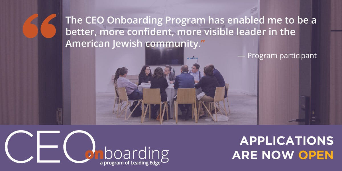 """The CEO Onboarding Program has enabled me to be a better, more confident, more visible leader."""