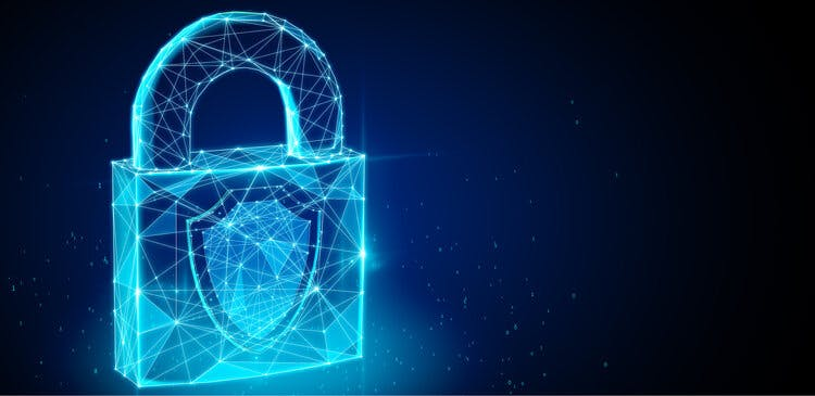 Secure Data- padlock