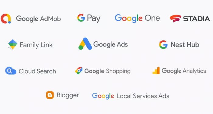 Google apps written in Flutter
