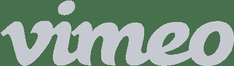 Logo for Vimeo