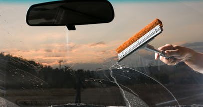 How To Clean Your Car Windscreen Inside And Out