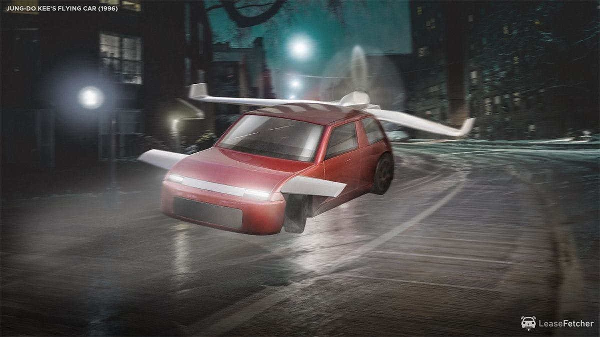 Jung-Do Kee's flying car - 1996