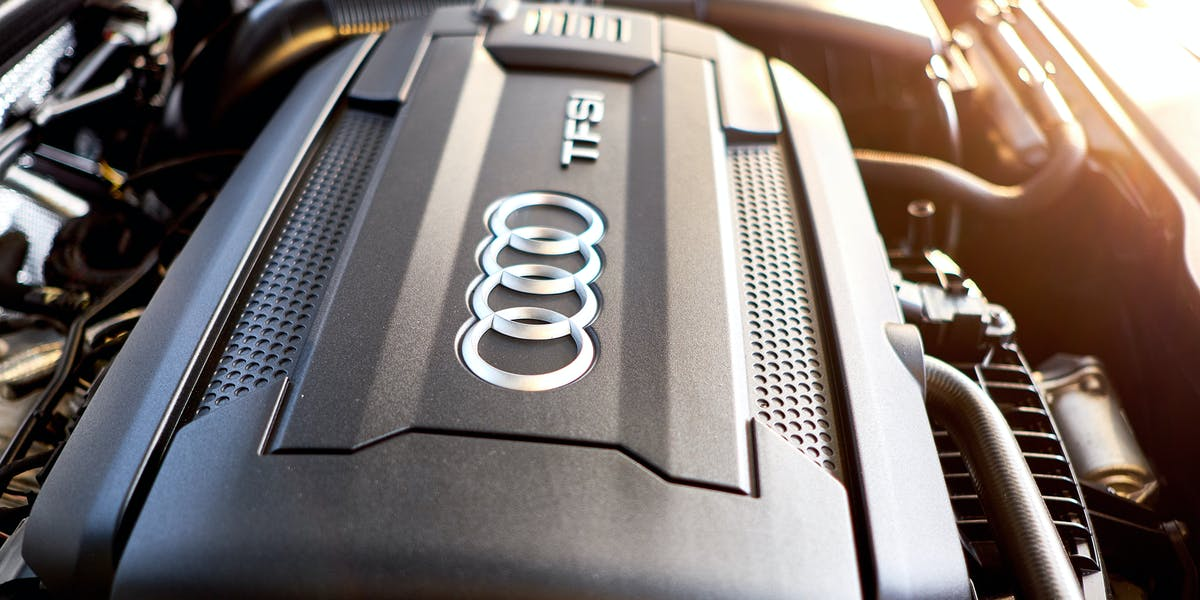 audi component cover