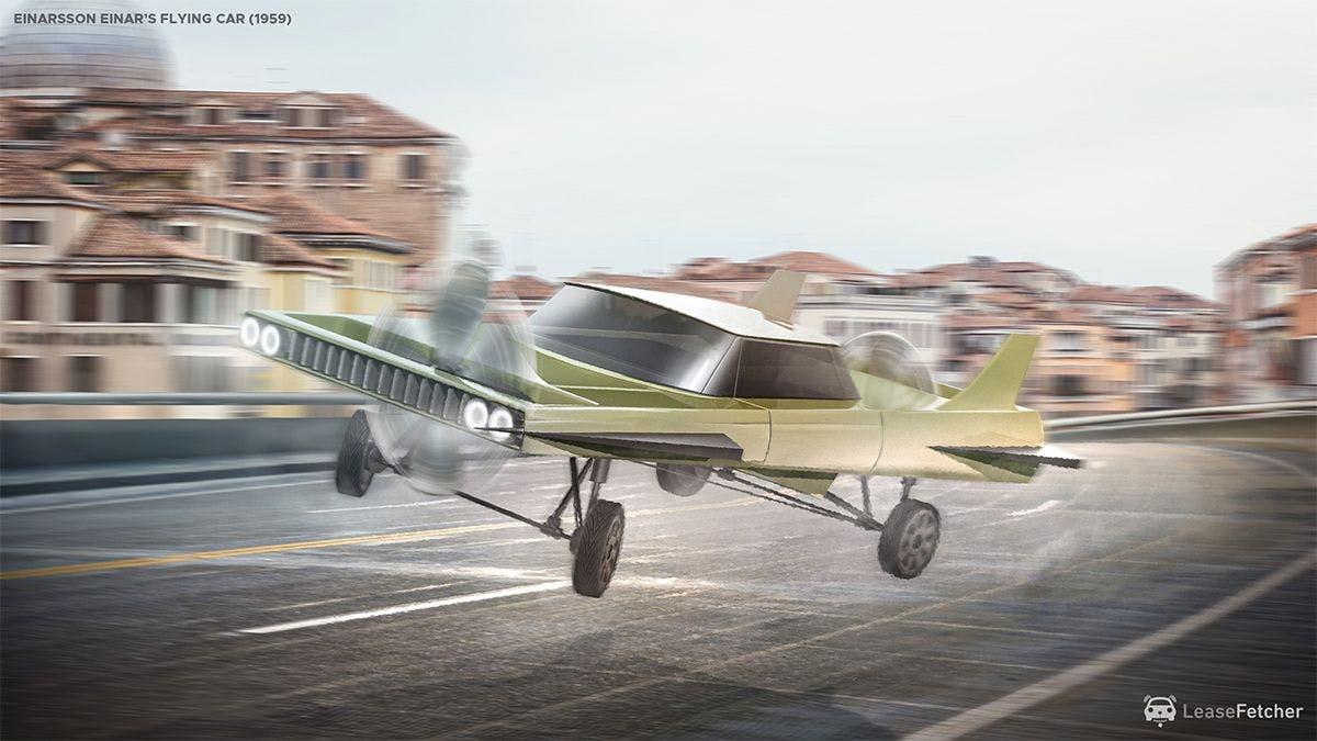 Einarssons Einar's flying car - 1959