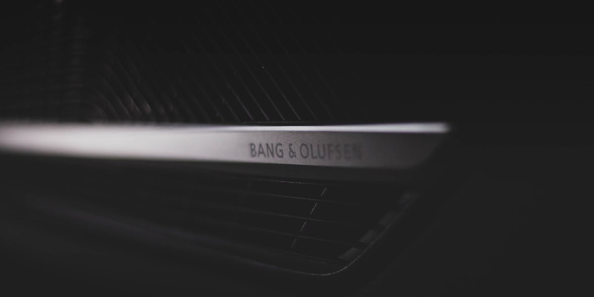 Audi Bang and Olufsen system