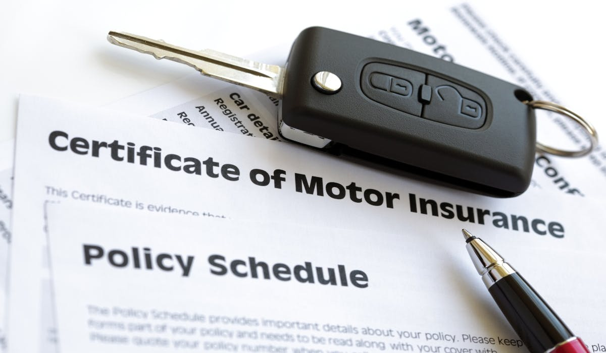 car insurance policy schedule