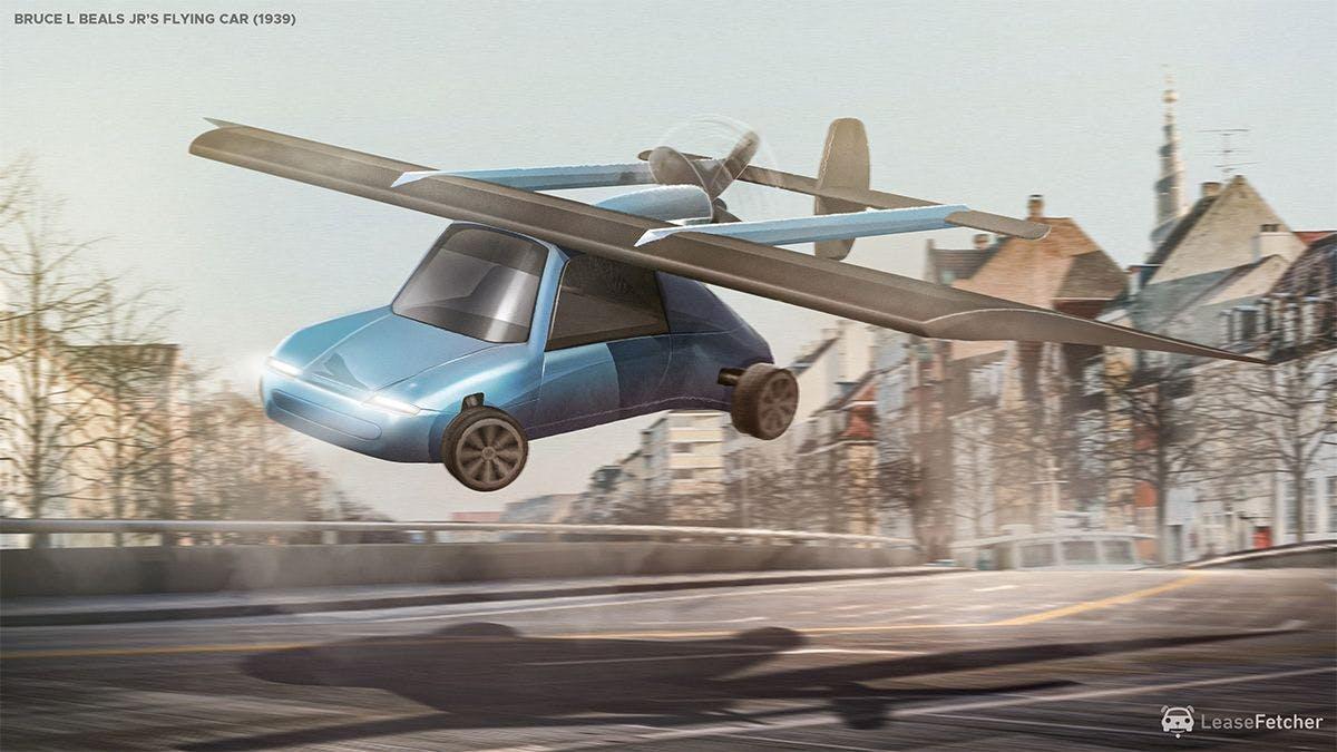 Bruce L Beals Jr's flying car - 1939