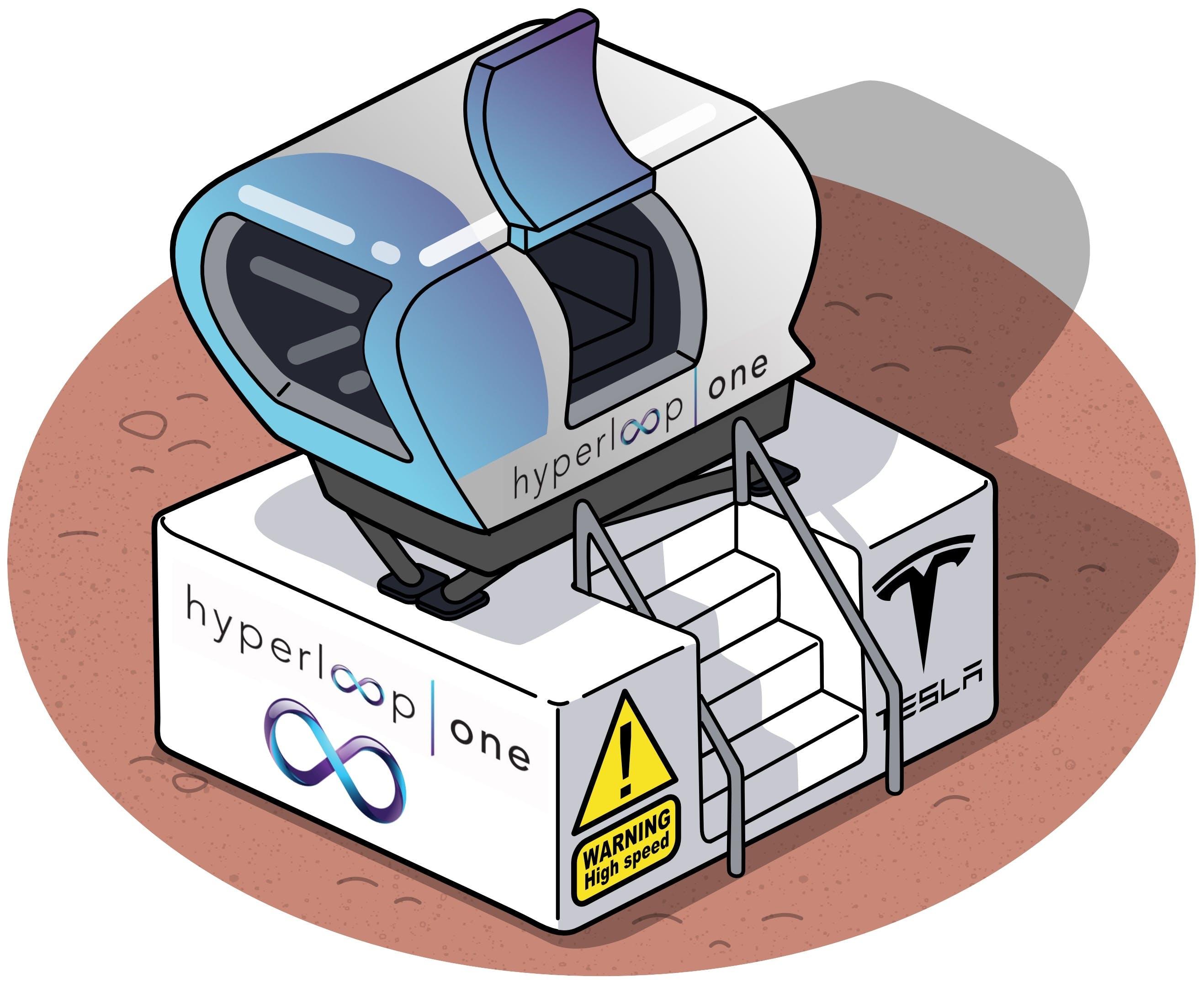 tesla hyperloop motion simulator
