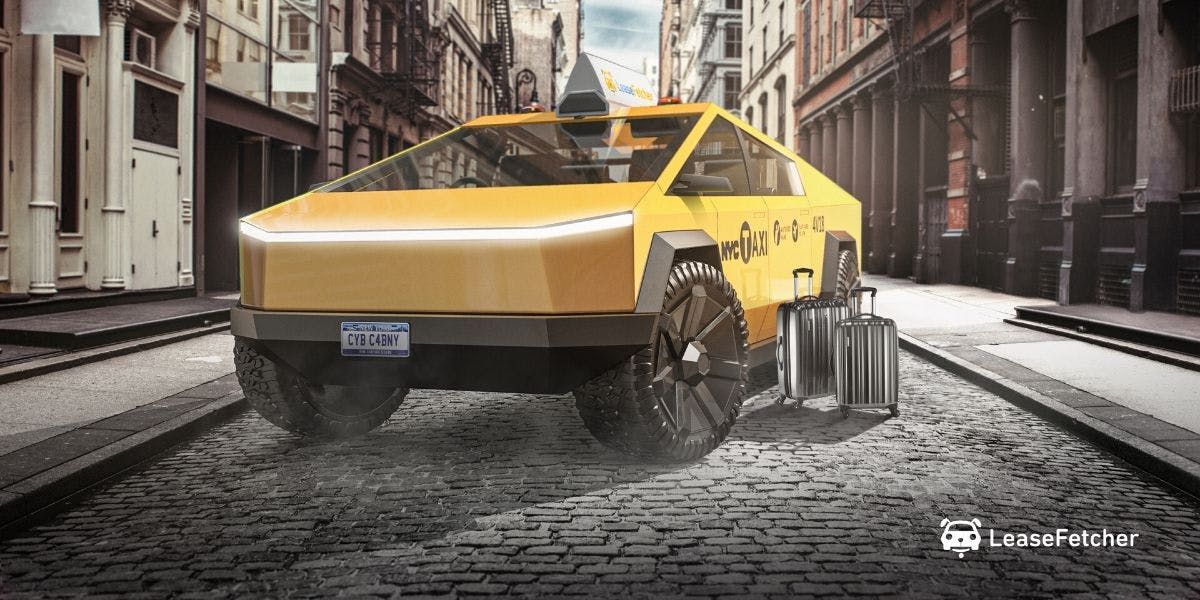 NY Cab Cybertruck design render