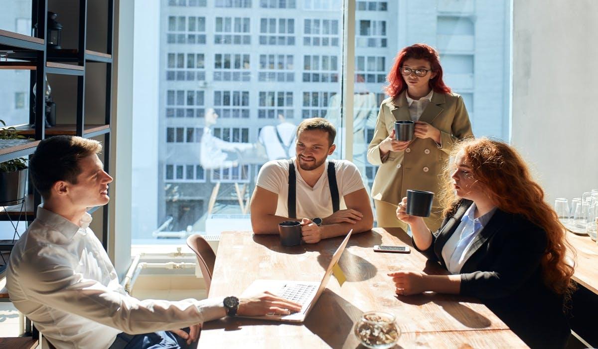 business start up meeting