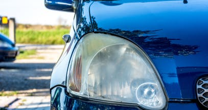 Home Remedy Hacks For Cleaning Cloudy Car Headlights