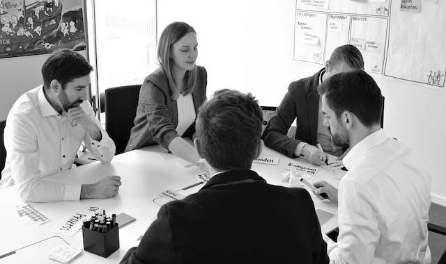 Leitwerk Consultants arbeiten im Team