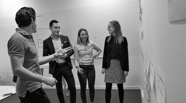 Leitwerk Consulting Team bei der Weiterentwicklung eines Produktentstehungsprozesses