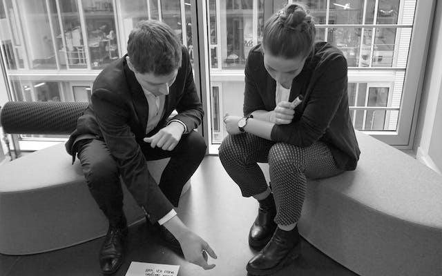 Einblick in die Design Thinking Schulung der Leitwerk Academy