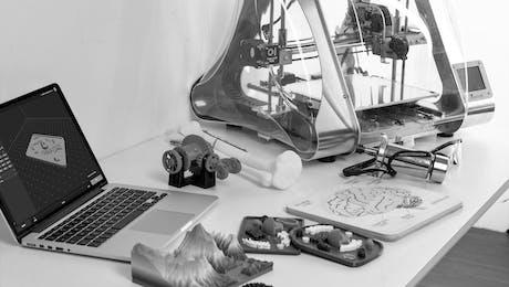 Forschung nach neuen Verfahren für 3D Drucktechniken in Kooperation mit der TU München
