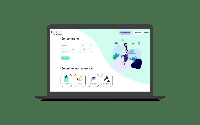 Création d'un site sur mesure