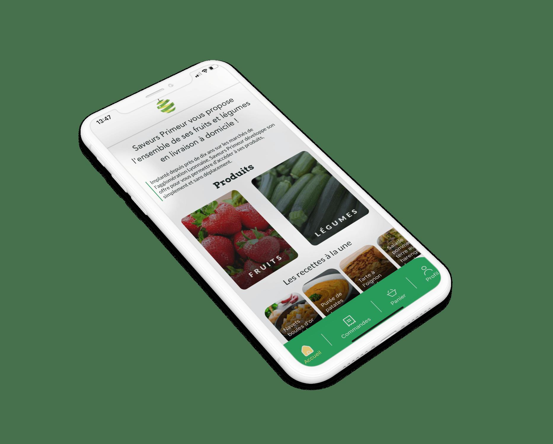 L'application lyonnaise qui vous livre des fruits et légumes frais