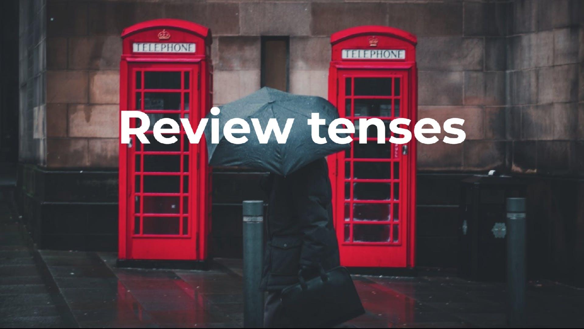Les review tenses
