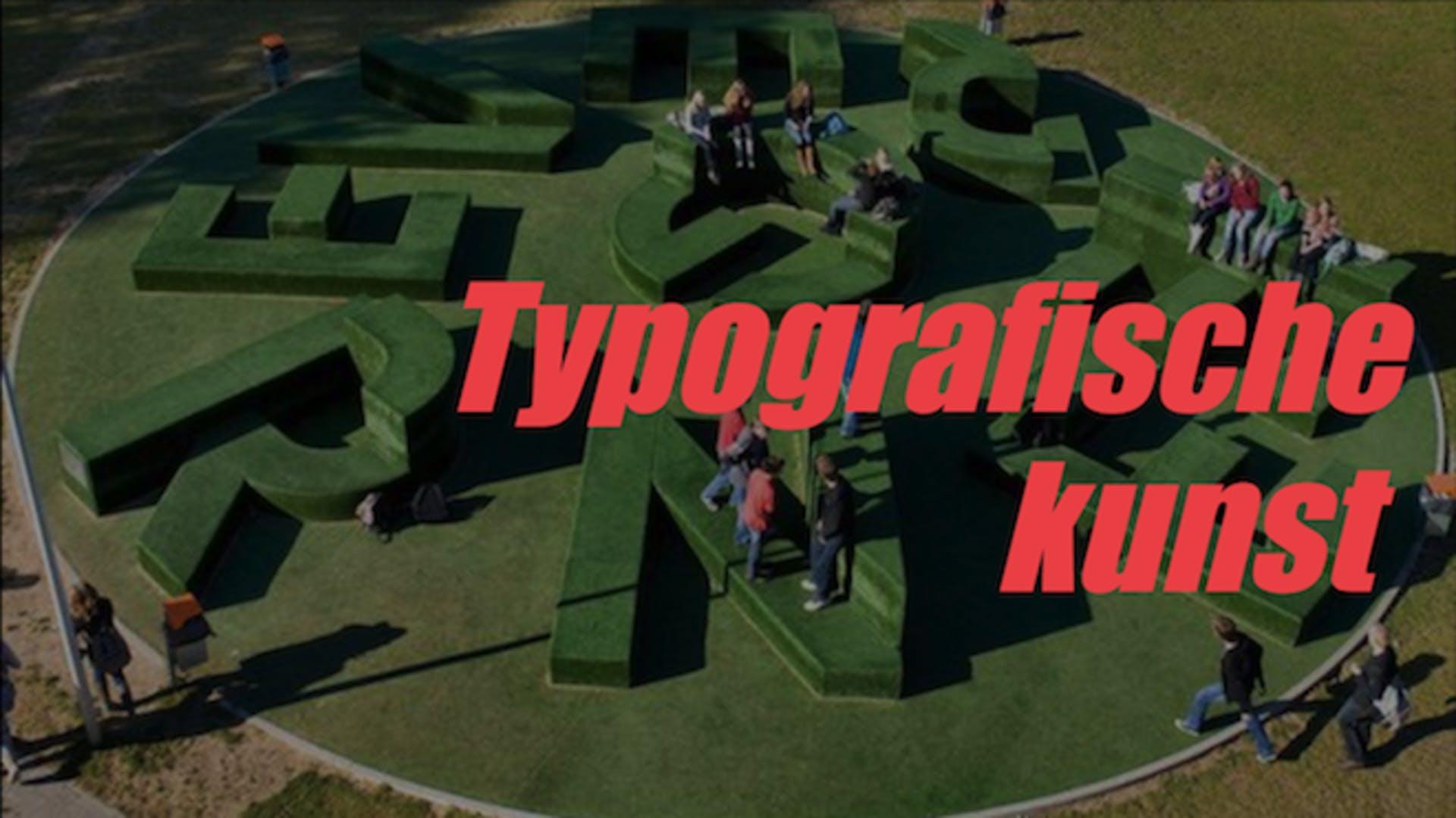 Les typografische kunst