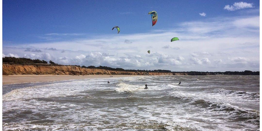 La mer dans le Finistère : du vent et de forts courants. Image d'illustration (Photo: Flickr).