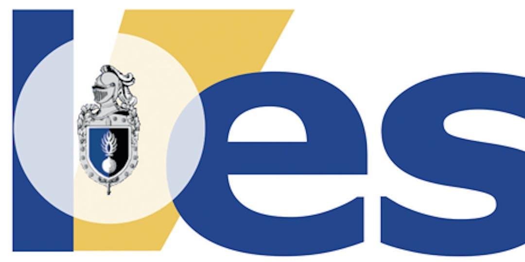 Logo de L'essor - large - avec grenade - sans tagline