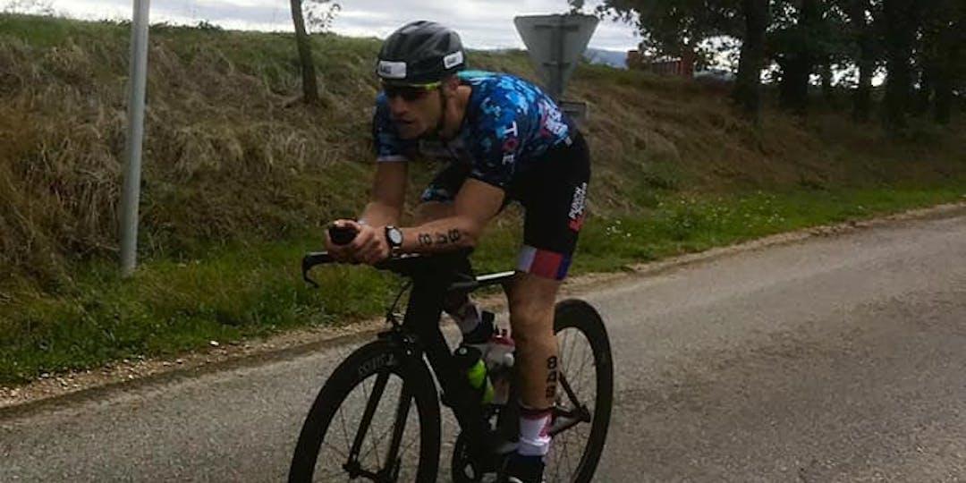 Les coureurs de la Sélection nationale Gendarmerie de triathlon veulent réussir ces Championnats de France militaires. (Crédit-photos DR)