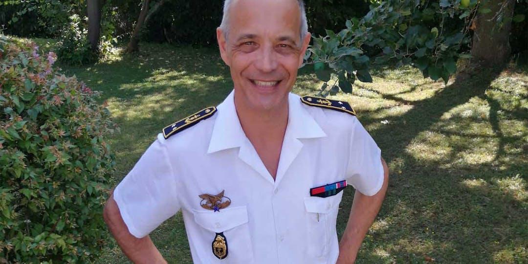 Le général de brigade Xaver Facquet a pris le commandement de la Gendarmerie maritime à l'été 2021. (Photo: collection personnelle DR)