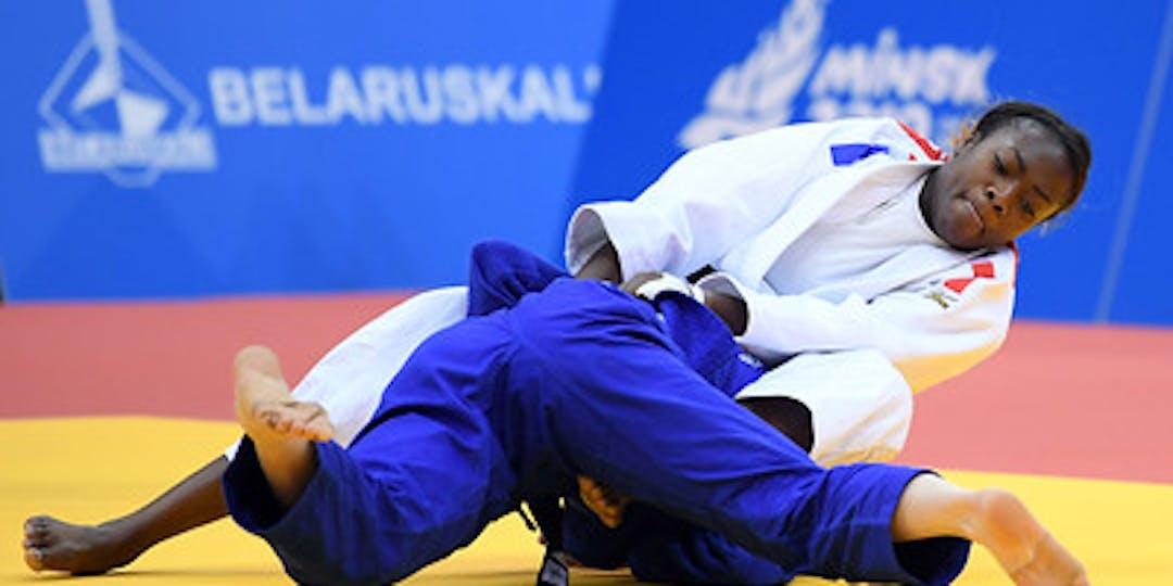 La gendarme Clarisse Agbégnénou en quête d'une médaille d'or olympique (crédit photo : CNOSF).