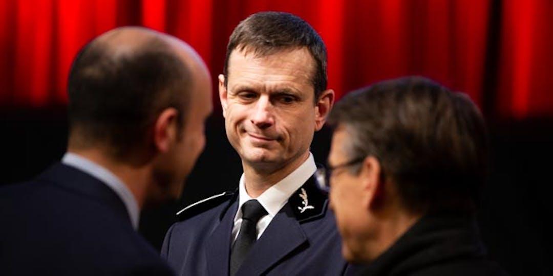 Jacques Witkowski en 2019, alors directeur général de la sécurité civile (M.GUYOT/ESSOR)