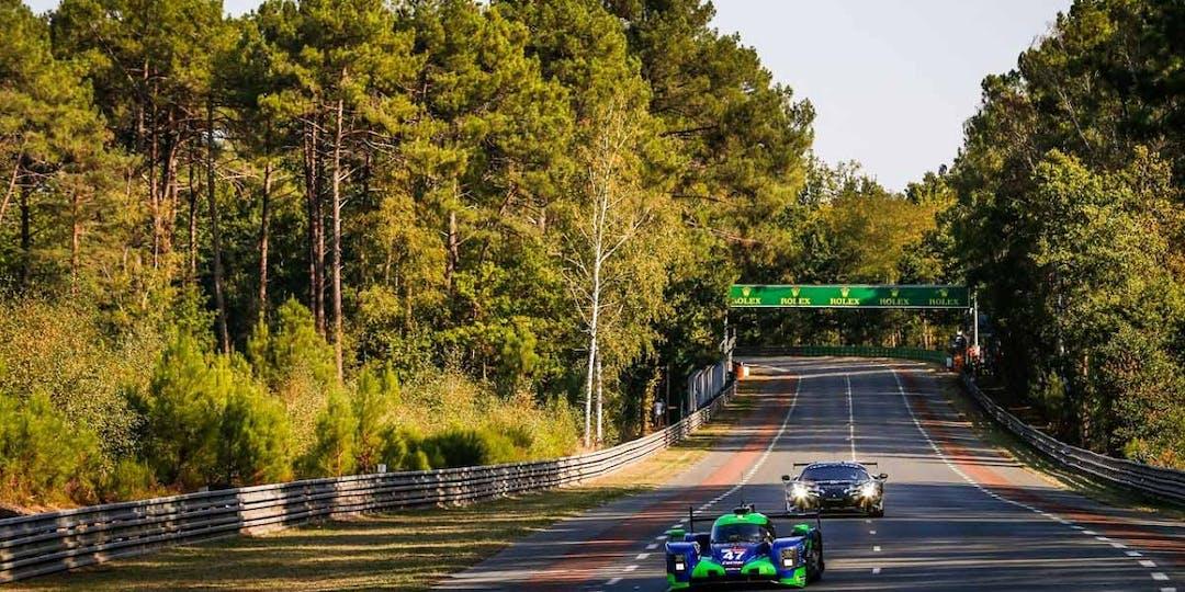 En amont de l'événement et pendant la course, les gendarmes se relaient pour sécuriser les abords du circuit des 24 heures du Mans.