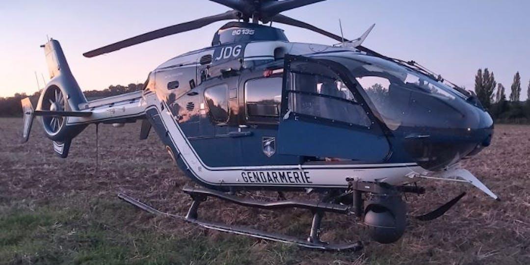 Un hélicoptère de la section aérienne de gendarmerie de Toulouse (Photo : Facebook/Gendarmerie de la Haute-Garonne)