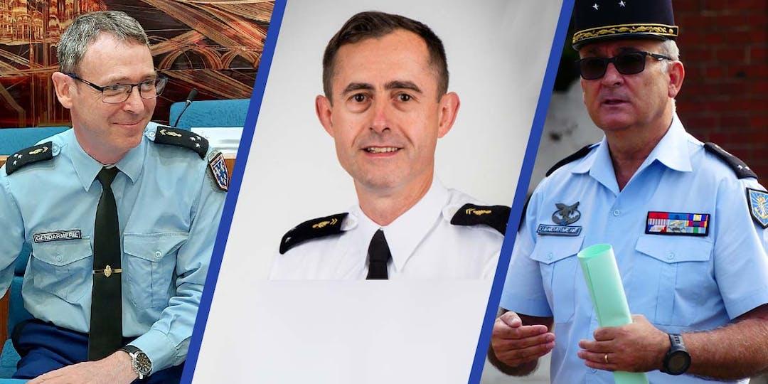 Les généraux Frédéric Aubanel, Pierre Casaubieilh et Jean-Marc Descoux, ont fait l'objet de mesures individuelles de nominations lors du dernier Conseil des ministres.