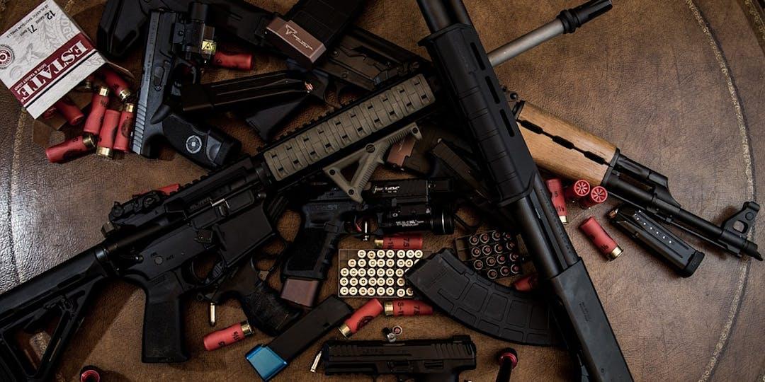 Les gendarmes ont saisi huit types d'armes différents (photo d'illustration : pixabay)
