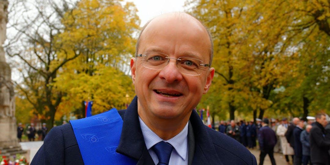 Le député européen du Territoire de Belfort (Renew Europe), Christophe Grudler. (Ph. C. GRUDLER)