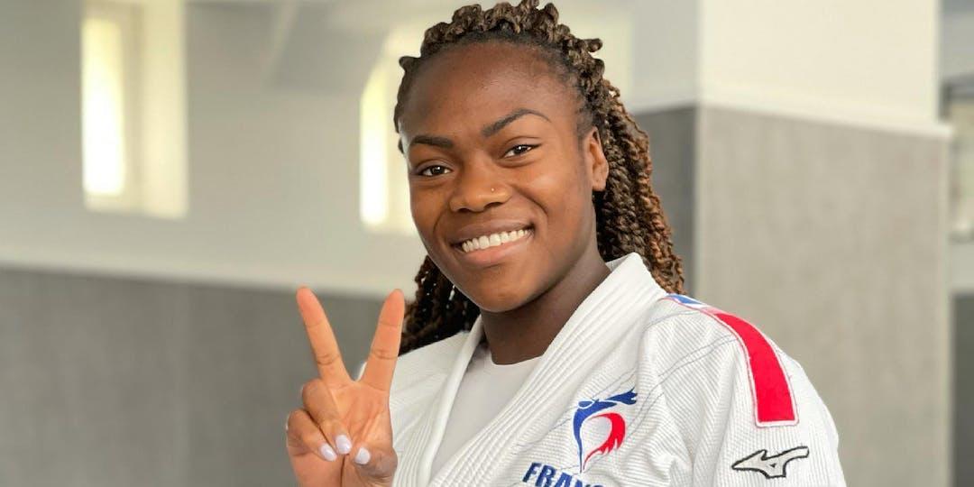 Clarisse Agbégnénou a deux rêves. Elle vient de réaliser le second en devant porte-drapeau de la France aux jeux Olympiques de Tokyo.