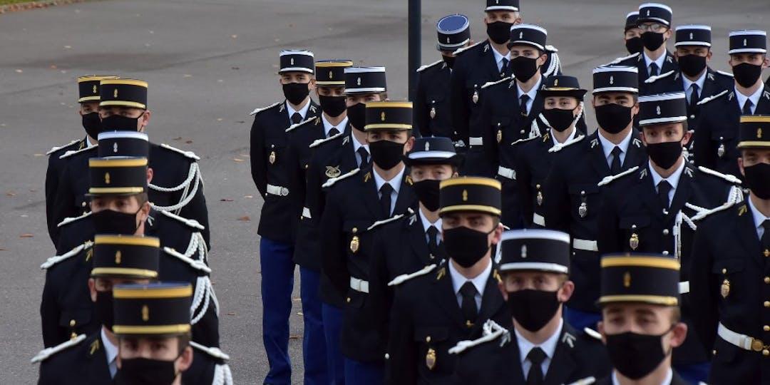 503e promotion de l'école de gendarmerie de Chaumont (Photo : Facebook: école de Gendarmerie de Chaumont).