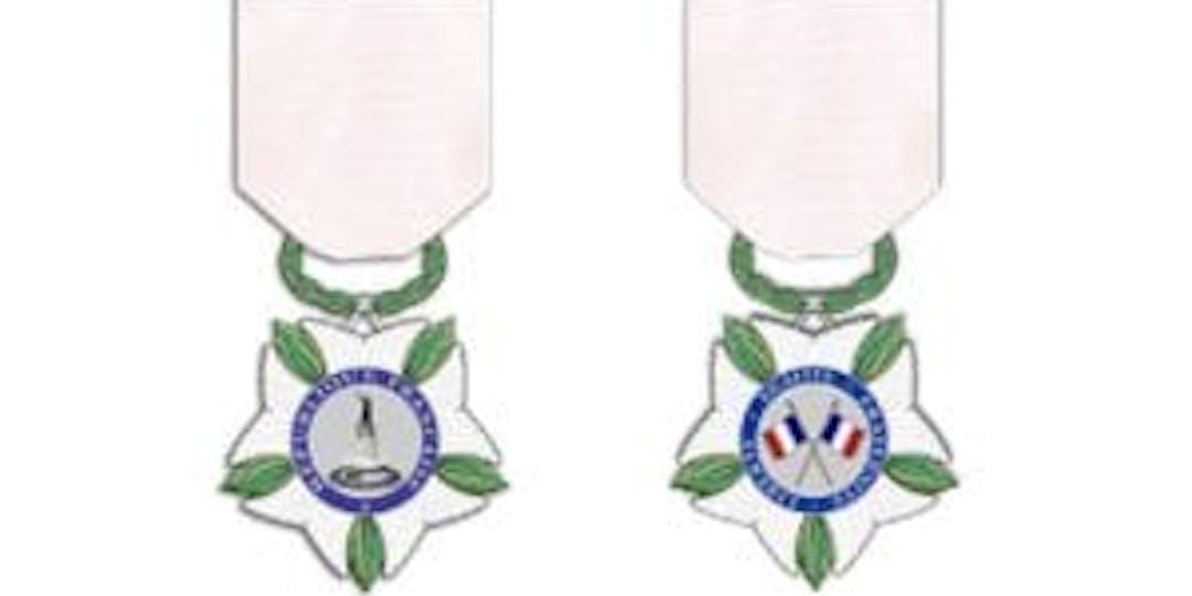 La Médaille de reconnaissance aux victimes du terrorisme (©Service historique de la Défense/ Grande chancellerie de la Légion d'honneur).