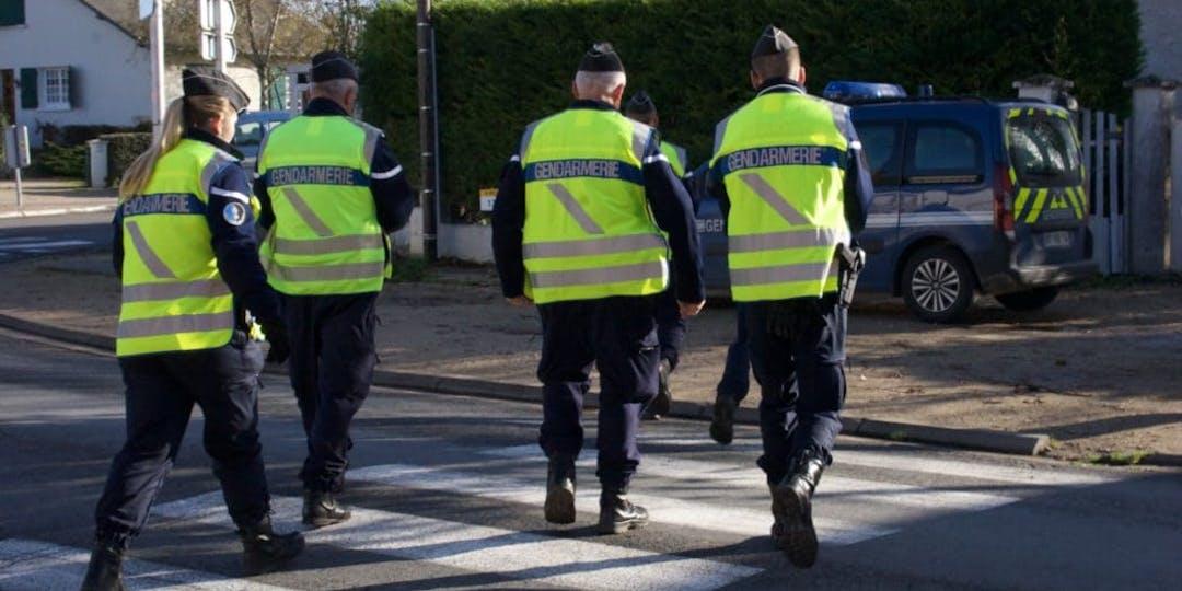 Des réservistes de la gendarmerie sur le terrain (Photo: DR).